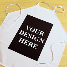 Custom Imprint Personalised Adult Apron