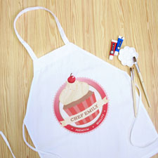 My Little Cupcake Personalised Girl Apron