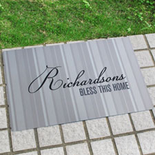 Create Your Own Personalised Classic Monogrammed Door Mat