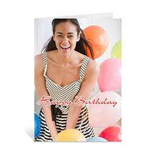 Custom Happy Birthday Photo Cards, 5