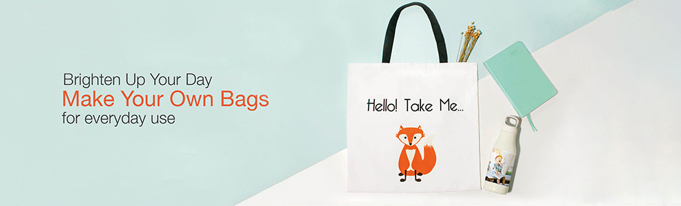 Personalised Photo Bags and Purses
