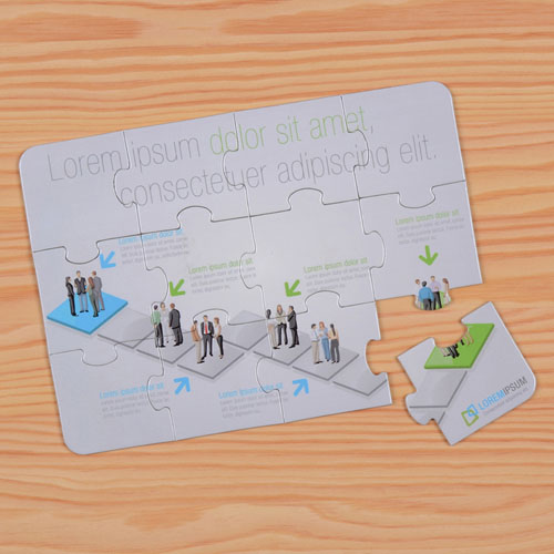 Personalised Corporate Puzzle Invite