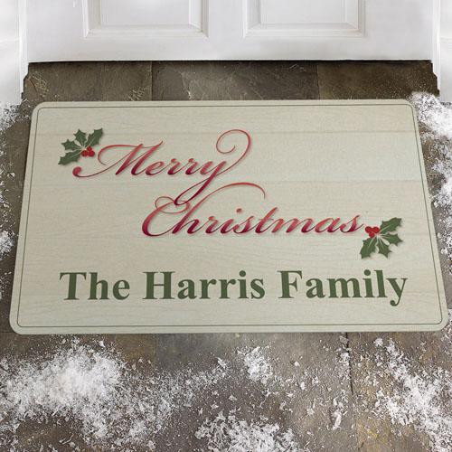 Create Your Own Merry Christmas Door Mat