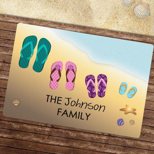 Create Your Own Summer Family Door Mat