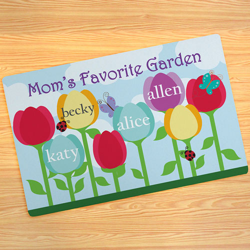 mum's Garden Personalised Doormat