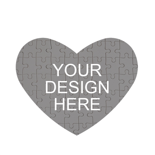 Design Your own Heart-Shaped Magnetic Puzzle