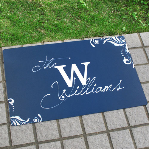 Create Your Own Personalised Welcome Home Door Mat