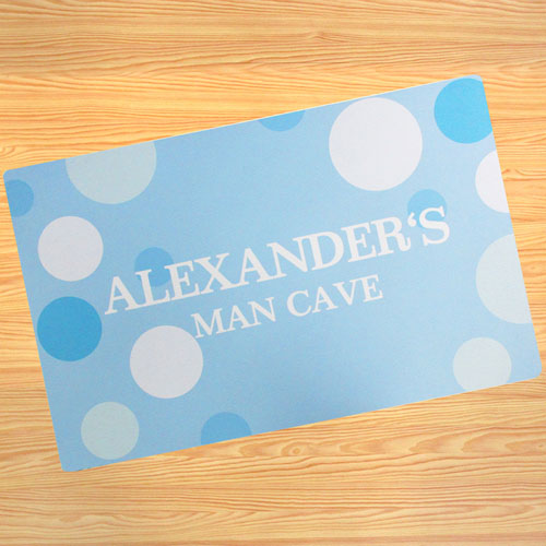 Create Your Own Personalised Boy My Name Door Mat