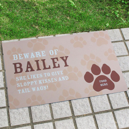 Create Your Own Personalised My Pet Door Mat