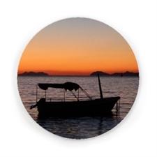 Round magnet - Sunset
