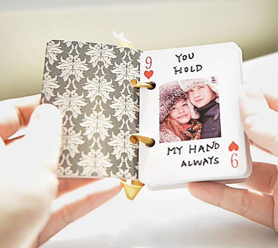 Valentine��s DIY Gift: 52 Reasons Why I Love You Deck of Cards