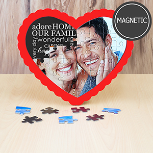 Magnetic Heart Shaped Puzzle